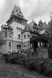 Pelisor Castle. Sinaia - Romania - A former hunting lodge and residence of the Romanian royal family Royalty Free Stock Photos