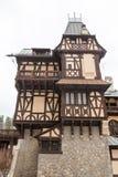Pelisor Castle from Sinaia, Romania Stock Photo
