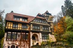 The Pelisor Castle Royalty Free Stock Photos