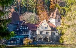 The Pelisor Castle royalty free stock image