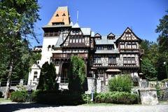 Pelisor Castle Stock Photo