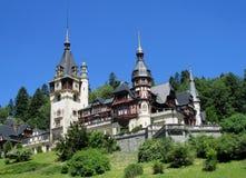 Pelisor pałac inSinaia, Rumunia Obraz Royalty Free