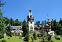 Pelisor-Palast inSinaia, Rumänien lizenzfreies stockbild