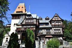 Pelisor Schloss Stockbild