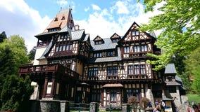 Pelisor-Schloss, das Jagdhäuschen auf dem Gebiet, Rumänien Lizenzfreie Stockfotos