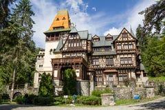 Pelisor slott arkivbild