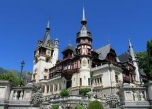 Pelisor slottinSinaia, Rumänien Royaltyfria Foton