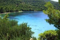 Peljesac в Хорватии Стоковые Изображения