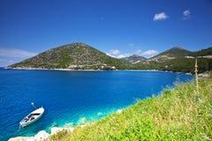 Peljesac, Croatia. Picturesque view of bay in Peljesac, Croatia Stock Images