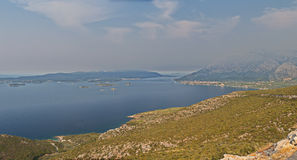 Peljesac panorama Royalty Free Stock Photo