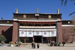 Pelkor Chode Monastery - Gyantse - Tibet Royalty Free Stock Image