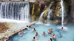 Free PELLA - MACEDONIA GREECE, January 17 2018: Loutra Pozar Baths Known As Natural Hot Springs Thermal Baths In On January 17 2018 In Stock Image - 130016801