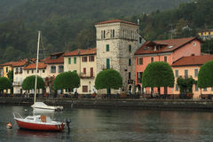 Pella , Orta lake, Italy Royalty Free Stock Photography