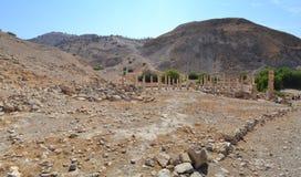 Pella Ruins. Ancient ruins of Pella, Jordan Royalty Free Stock Image
