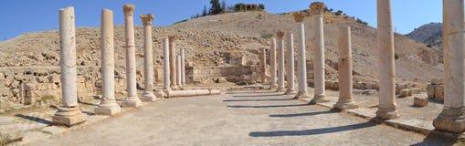 Pella Ruins. Ancient ruins of Pella, Jordan Stock Image