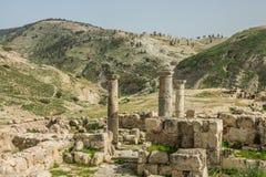Free Pella Ruins Columns Near The Mountains Stock Photo - 113651850