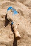 Pelle à plage Photographie stock