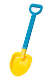 Pelle à plage de jouet (chemin de découpage) Images stock