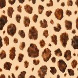 Pelle animale dell'acquerello di vettore per progettazione Fotografie Stock Libere da Diritti