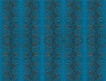 Pelle blu del pitone Fotografia Stock Libera da Diritti