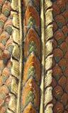 Pelle del drago con struttura dorata Immagini Stock
