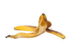 Pelle della banana fotografie stock