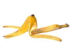 Pelle di banana immagine stock libera da diritti
