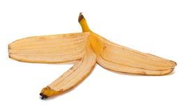 Pelle di banana immagine stock