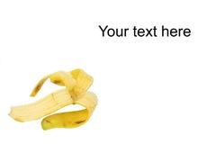 Pelle di banane Fotografie Stock