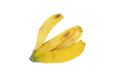 Pelle di banane Fotografie Stock Libere da Diritti