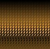 Pelle di serpente del Brown Fotografia Stock