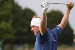 Pelle Edberg, cuvette de golf de Vivendi, septembre 2010 Images libres de droits