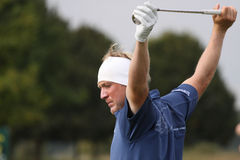 Pelle Edberg, Vivendi golfkop, sept. 2010 Royalty-vrije Stock Afbeeldingen