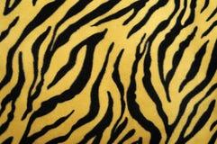 Pelle falsa della tigre Fotografia Stock Libera da Diritti