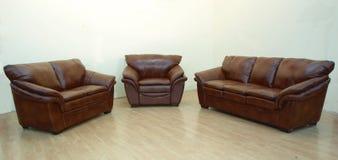 Pelle furniture02 Fotografia Stock Libera da Diritti