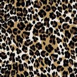 Pelle naturale del leopardo Fotografie Stock
