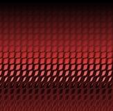 Pelle rossa del rettile Fotografia Stock