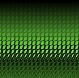 Pelle verde del coccodrillo Immagini Stock