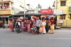 Pellegrinaggio & Dharamshala in India Fotografia Stock