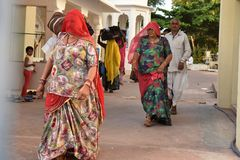 Pellegrinaggio & Dharamshala in India Immagine Stock Libera da Diritti