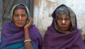 Pellegrini indiani fotografie stock libere da diritti