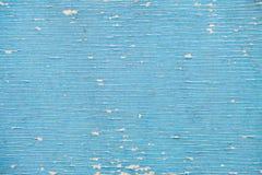 Pellend het schilderen materiaal in blauwe kleur Stock Foto