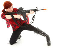 Pellet Air Rifle Stock Photography