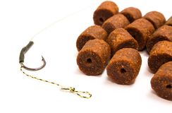 Pellet - Carp Fishing Bait and accessories Stock Photography