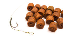 Pellet - Carp Fishing Bait and accessories Royalty Free Stock Photos