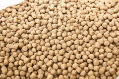 Pellet Fish Feed Stock Photo