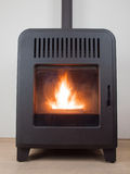 Pellet stove Royalty Free Stock Images