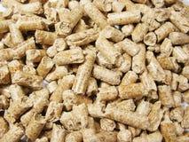pellets древесина Стоковое Фото