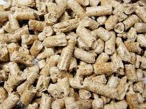 pellets древесина Стоковые Фотографии RF