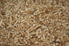 pellets древесина Стоковые Фото